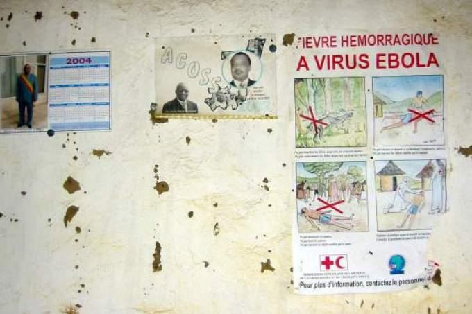 Cartaz ebola